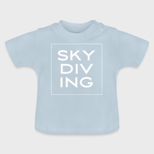 SKY DIV ING White - Baby T-Shirt