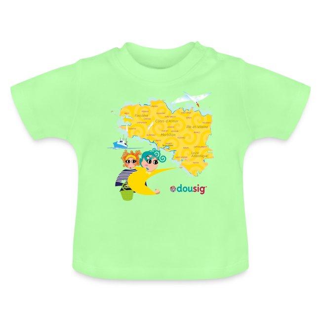 Carte de la Bretagne Dousig