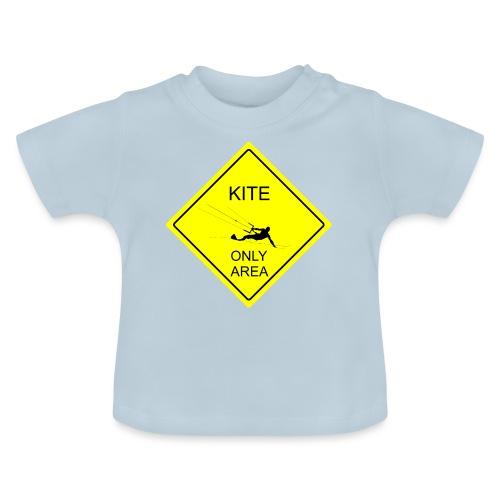 Kitesurfing only area - Koszulka niemowlęca