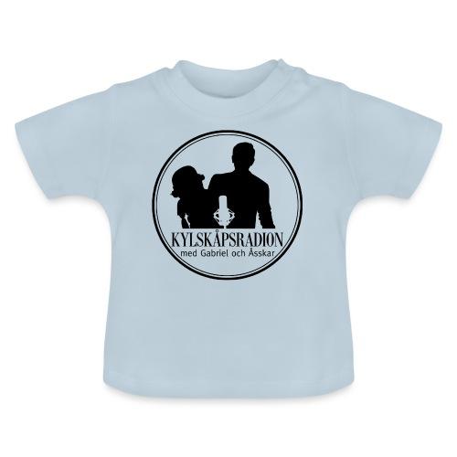 Logga helsvart - Baby-T-shirt