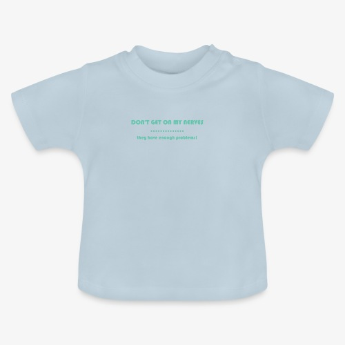 Neuralgia trójdzielna - Koszulka niemowlęca