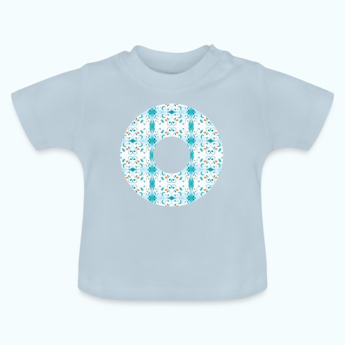Hippie flowers donut - Baby T-Shirt