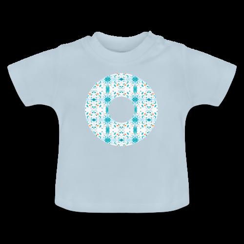 Hippie flowers donut - Baby T-Shirt