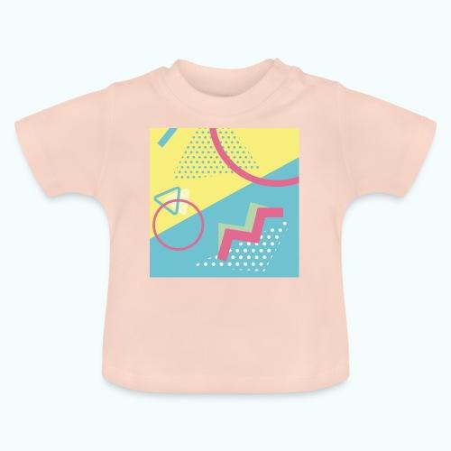 Pastel turquoise geometry - Baby T-Shirt