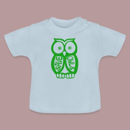 Save owls - T-shirt Bébé