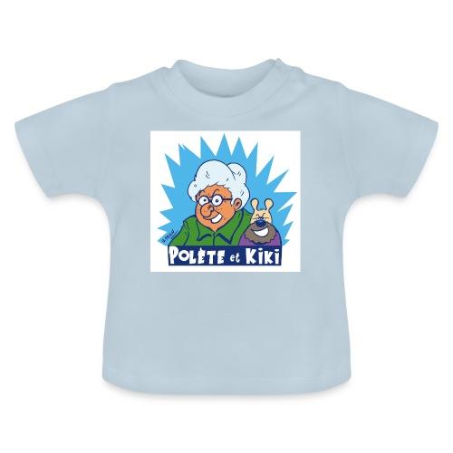 tshirt polete et kiki 1 - T-shirt Bébé