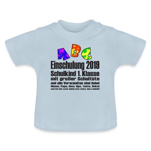 Einschulung Jahr 2019 - Baby T-Shirt