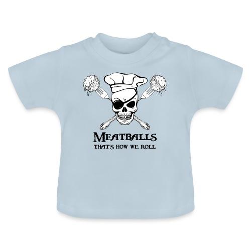Meatballs - tinte chiare - Maglietta per neonato