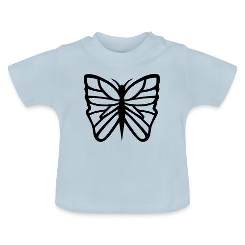 Avancerat fjärilsmotiv. - Baby-T-shirt