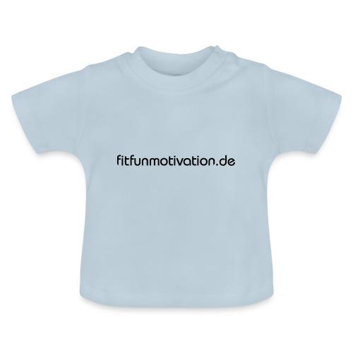 ffm schriftzug - Baby T-Shirt