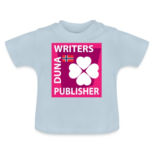Duna Writers Publisher Pink - Baby-T-skjorte