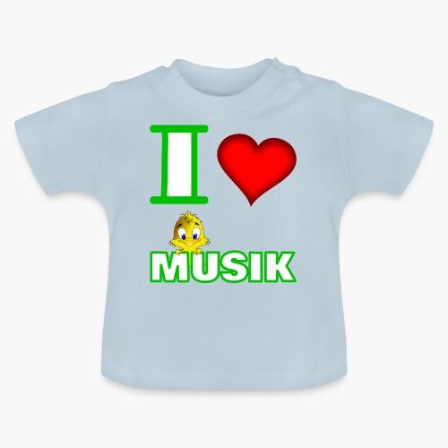 Ich liebe Musik - Baby T-Shirt