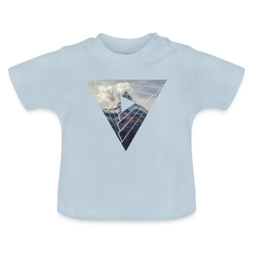 Matterhorn Zermatt Dreieck Design - Baby T-Shirt