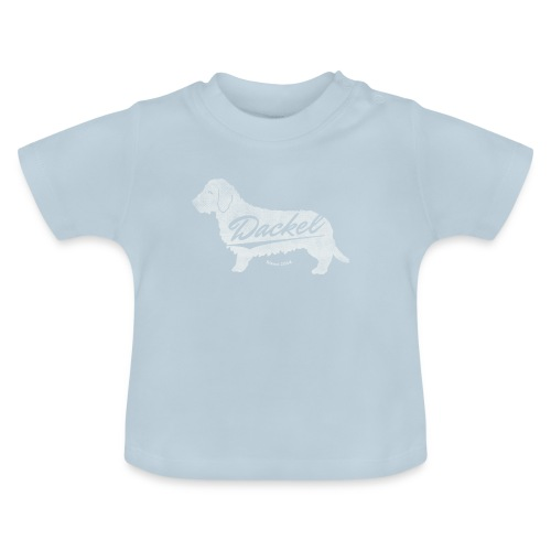 Dackel since 2014 Vintage Design Geschenkidee - Baby T-Shirt