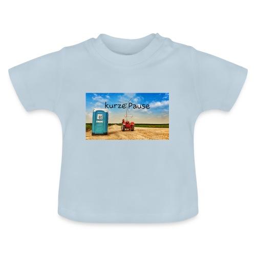 kurze Pause - Baby T-Shirt