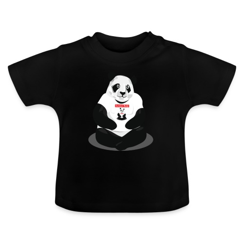 panda hd - T-shirt Bébé