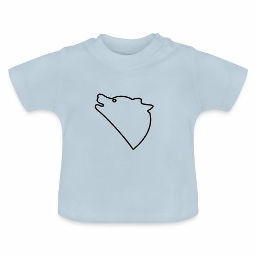 Wolf baul logo - Baby T-shirt