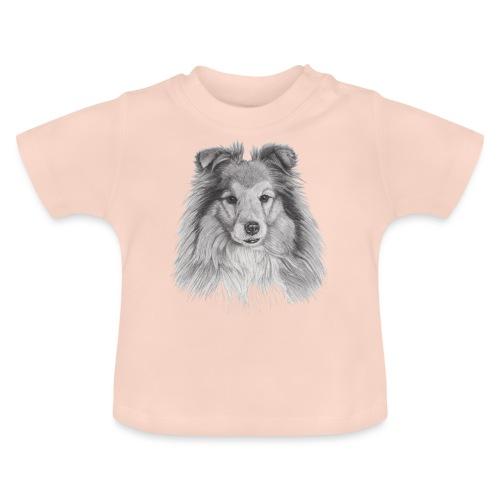 shetland sheepdog sheltie - Baby T-shirt