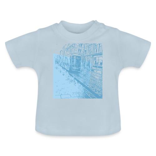 Helsinki Tram Typo - Baby T-Shirt