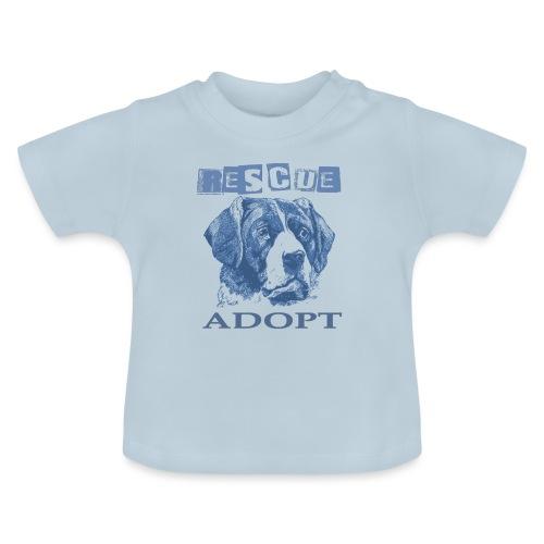 Rescue adopt - Camiseta bebé
