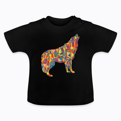 howling colorful - Baby T-Shirt