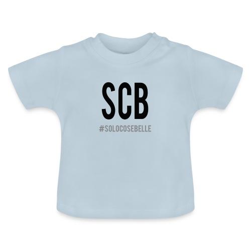 scb scritta nera - Maglietta per neonato