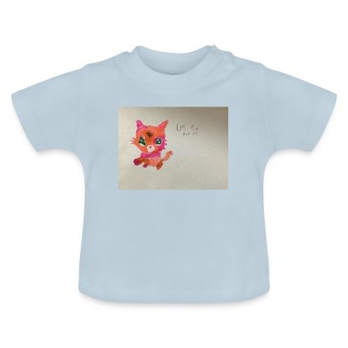 Little pet shop fox cat - Baby T-Shirt