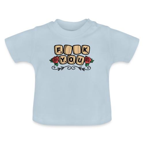 Fuck you Brettspiel - Baby T-Shirt