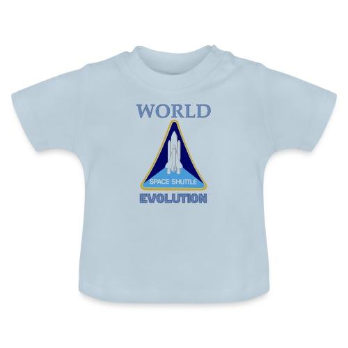 World evolution. - Camiseta bebé