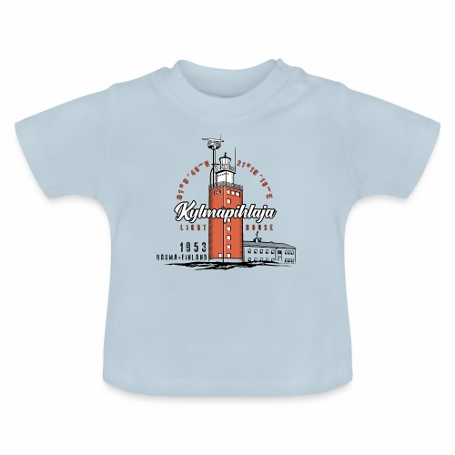 Finnish Lighthouse KYLMÄPIHLAJA Textiles, and Gift - Vauvan t-paita