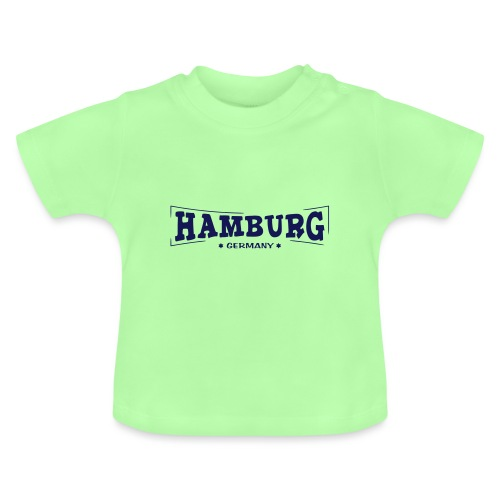 Hamburg-Schriftzug - Baby T-Shirt