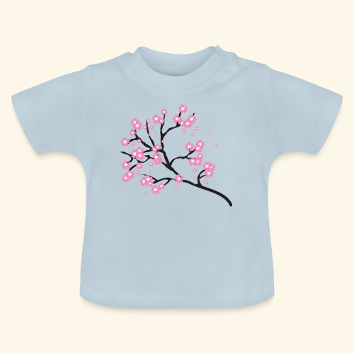 Pink blossoms branch - Baby T-Shirt