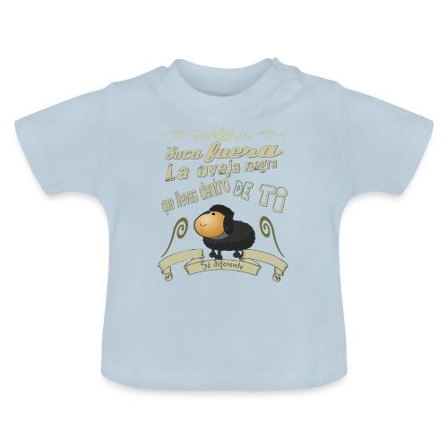 Saca fuera la oveja negra. - Camiseta bebé