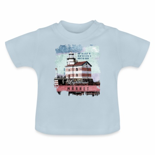 Märket majakkatuotteet, Finland Lighthouse, väri - Vauvan t-paita