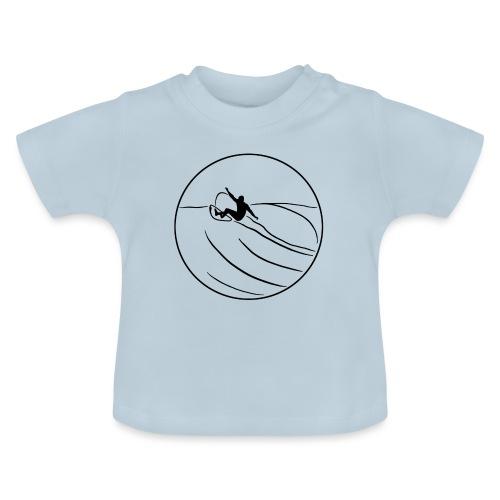 Surfer2 auf Welle Nr.1 - Baby T-Shirt