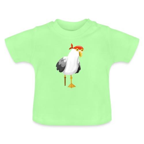 Möwe Pirat Seeräuber Kapitän - Baby T-Shirt