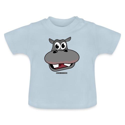 Hippo by HassaD - Baby-T-skjorte