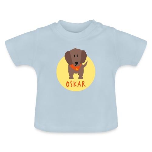 Dackel Oskar von Dachshausen - Baby T-Shirt