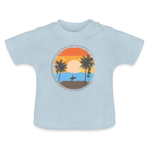 Sunset Retrô - Camiseta bebé