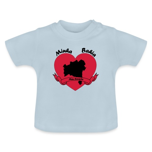 Minha Bahia - Meu Coracao - Baby T-Shirt