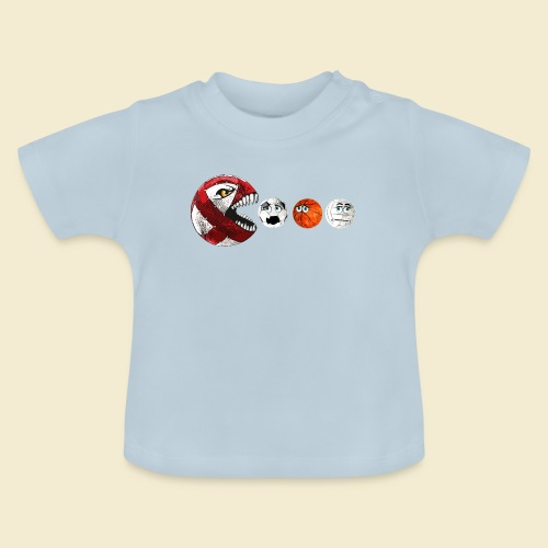 Radball | Cycle Ball RedMan - Baby T-Shirt