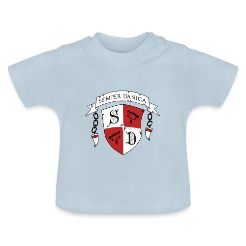 SD logo - sorte lænker - Baby T-shirt