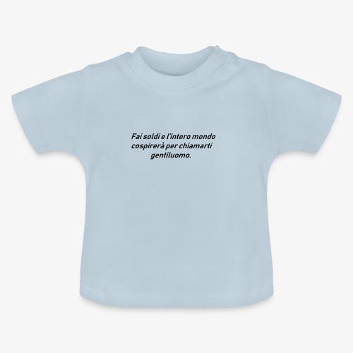 RICCHEZZA - Maglietta per neonato