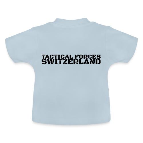 TFS style pochoir noir sur le dos - T-shirt Bébé