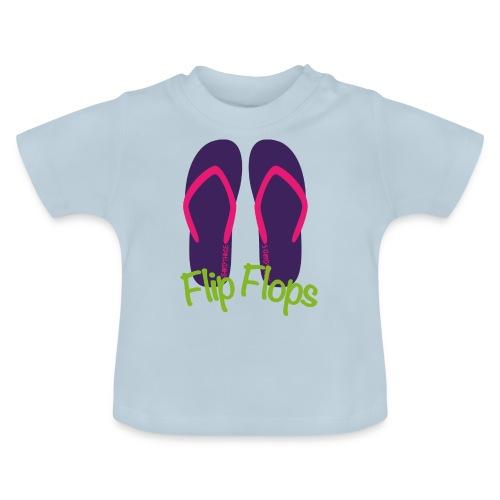 S33 flipflops - Baby T-Shirt
