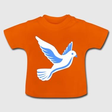 Colombe en vol - T-shirt Bébé