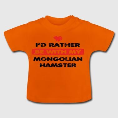Hamster plutôt l'amour dans mon MONGOLIAN HAMSTER - T-shirt Bébé