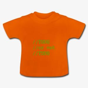 TODO or not TODO - Koszulka niemowlęca