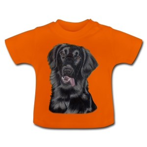 flatcoated retriever p - Baby T-shirt