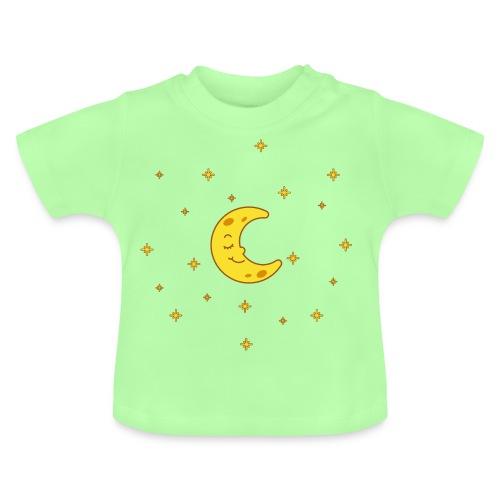 Mond und Sterne - Baby T-Shirt